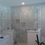 Custom Frameless Shower install Fort St. John