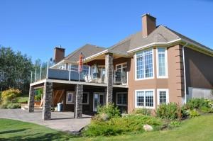 Jeldwen Metalclad/Wood Windows installed in Custom house, Fort St. John