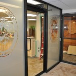 Commercial Glass Vestibule installed with Handicap Automatic