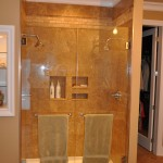 S. Young Double Shower Door installation, Charlie Lake, BC