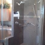 Custom Neo Angled Shower Install, Fort St. John, BC