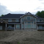 Jeldwen Windows and Doors in Custom Home in Charlie Lake