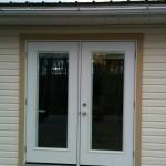 Removed Window and Framed in Garden Door
