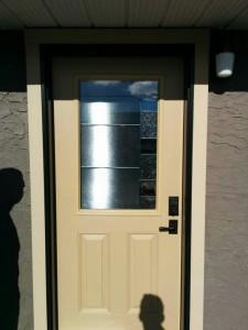 Installation of Jeldwen Entry Door