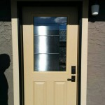 Fiberglass Door Installed in Fort St. John