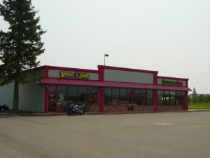 Strip Mall Commercial Storefront Glazing Fort St. John
