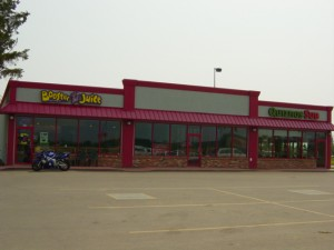 Strip Mall Commercial Glazing Fort St. John