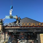 WL Construction Brown's Social House Patio
