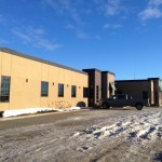 Aluminex Commercial Aluminum installed for Colteran Developments--MNP Ltd. Building