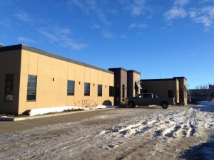 Aluminex Commercial Aluminum installed for Colteran Developments--MNP Ltd. Building