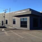 Alumicor Curtainwall aluminum installed for WL Construction, Fort St. John