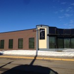 Alumicor Curtain wall Aluminum installed for WL Construction, Fort St. John
