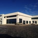 Aluminex Aluminum installed in Fort Motors for WL Construction, Fort St. John
