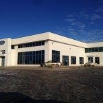 Glass and Aluminum installed for Fort Motors, Fort St. John, BC