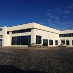 Aluminex Aluminum installed for WL Construction-Fort Motors, Fort St. John, BC