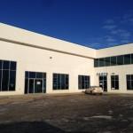 Blue Glass installed in Aluminex Frames for Fort Motors, Fort St. John, BC