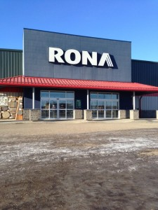 Sliding Automatics installed for Rona, Fort St. John