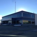 Aluminex Commercial Aluminum instaled for WL Construction-Petron Communications Building, Fort St. John, BC