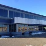 Aluminex Strip Window installed for WL Construction-Petron Communications, Fort St. John, BC