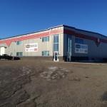 Commercial Aluminum installed for McCoy Bros, Fort St. John, BC