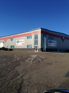 Commercial Aluminum installed for McCoy Bros, Fort St. John, BC