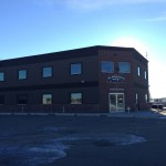 Commercial Aluminum installed for Way-Loe Consulting