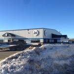 Commercial Aluminum installed for Gregg Distributors, Fort St. John