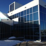 Aluminex Aluminum installed into existing City Hall for WL Construction in Fort St. John