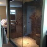 Frameless Shower install Fort St. John