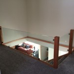 Custom 10mm Tempered Railing with CR Laurence Glass Clamps