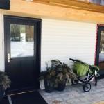 Jeldwen Custom Wood Residential Door replaced in Fort St. John