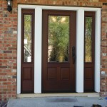 Pella Fiberglass Entry door installation Fort St. John