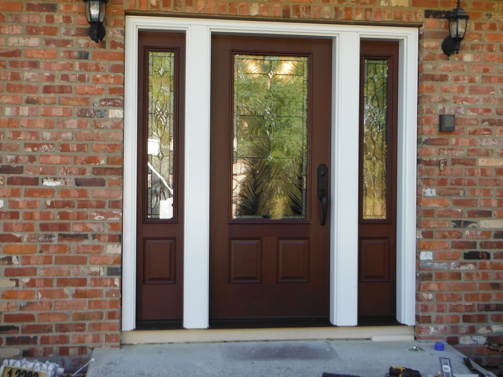 Residential windows doors photo gallery alpine glass for Entry door installation