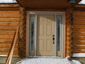 Jeldwen Firberglass Entry Door install Fort St. John
