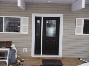 Jeldwen Entry Door install Fort St. John