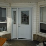 Jeldwen Steel Entry Door install Fort St. John