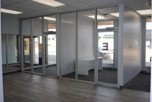 Aluminex Storefront Interior Glazing