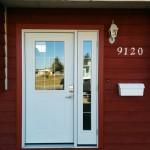 Jeldwen Entry Door Installed