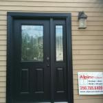Jeldwen Entry Door replaced in Fort St. John