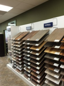 Hardwood Display