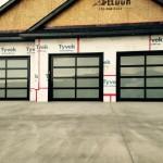 Steel-Craft Esteem Series Doors with Satin Etch Glass
