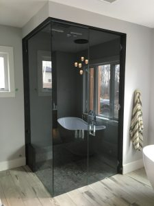 12mm Clear Tempered Custom Shower