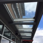 Glass Canopy in Dawson Creek, BC