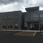 Alumicor Aluminum installed into Macro Industries Building