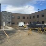 Alumicor Aluminum installed into Macro Industries Building