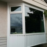 Jeldwen ES7000 Bay window with Tripane Glass installed in Fort St. John