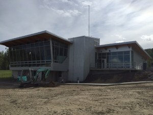 Omicron-BC Hydro Visitor Center Commercial Glazing