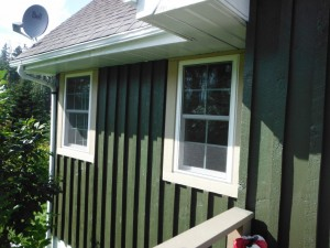 Pella 350 Series Pvc Double Hung Window Installed