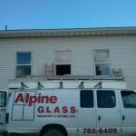 Jeldwen Windows installed into Pentacostal Church Fort St. John, BC