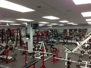 Mirrors in Gator's Gym
